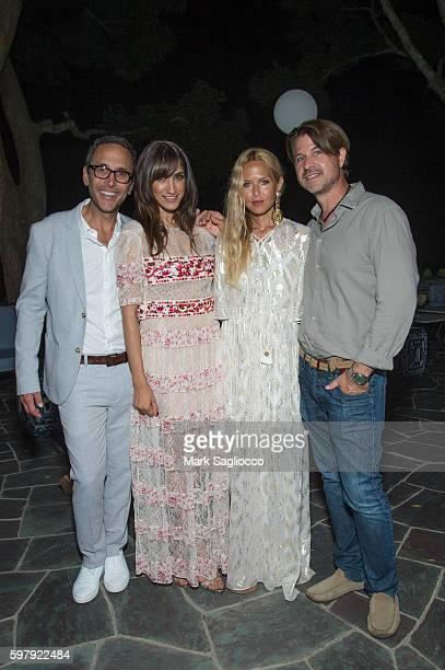 Peter Traugott EBTH Chief Brand Officer Mandana Dayani Designer Rachel Zoe and Roger Berman attend the Ashley And Jeff McDermott host an intimate...