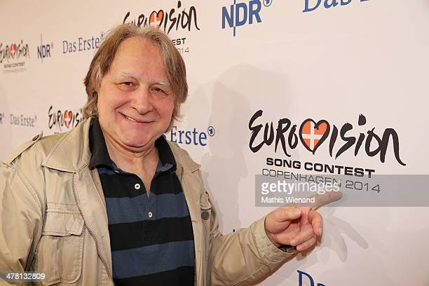 Peter Urban attends the Eurovision Song Contest Press Conference on March 12 2014 in Cologne Germany