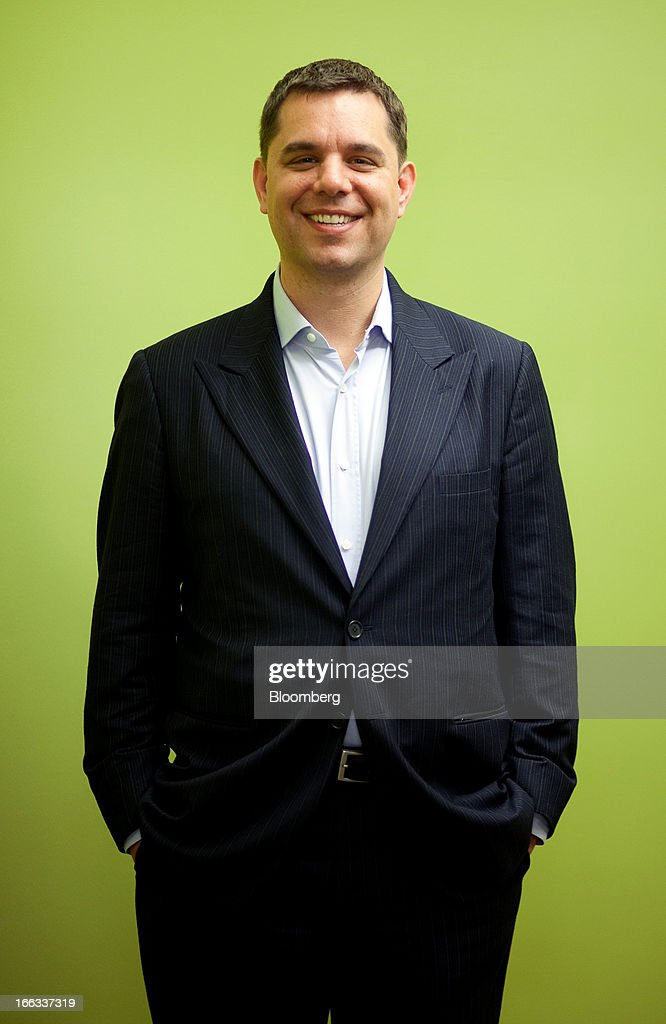 Peter Vessenes, executive director of Bitcoin Foundation, stands for a photograph after an interview in Seattle, Washington, U.S., on Thursday, April 11, 2013. Created four years ago by a person or group using the name Satoshi Nakamoto, Bitcoin is a virtual currency that can be used to buy and sell a broad range of items -- from cupcakes to electronics to illegal narcotics. Photographer: Ron Wurzer/Bloomberg via Getty Images