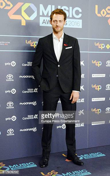 Peter Vives attends '40 Principales Awards' 2016 Nominees Dinner on October 5 2016 in Madrid Spain