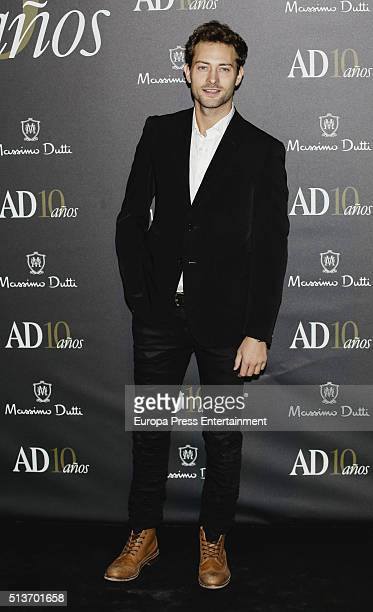 Peter Vives attends 'AD Awards' 10th Anniversary at Ritz Hotel on March 3 2016 in Madrid Spain