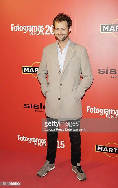 Peter Vives attends Fotogramas Awards on March 7 2016 in Madrid Spain