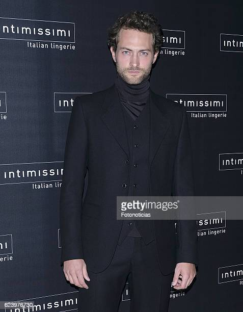Peter Vives attends 'Intimissimi' 20th anniversary party at the Italian Embassy on November 17 2016 in Madrid Spain