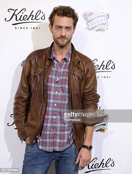 Peter Vives attends 'Kiehls's Since 1851' 10th anniversary charity event at Espacio Hermosilla on September 29 2016 in Madrid Spain