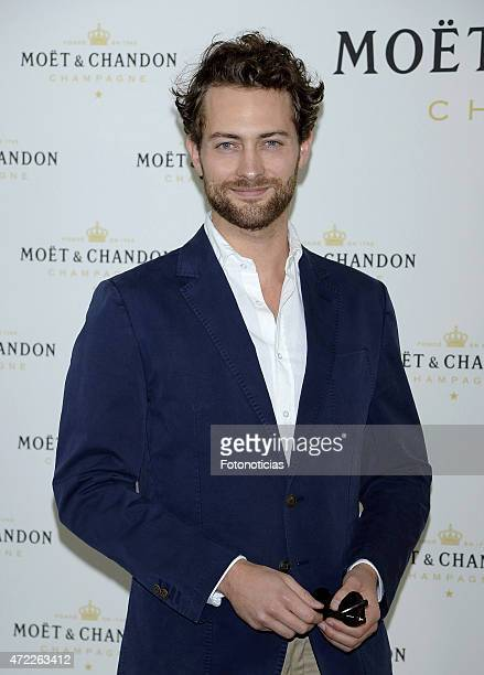 Peter Vives attends 'Moet Tiny Tennis' event at the French Embassy on May 5 2015 in Madrid Spain