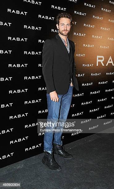 Peter Vives attends Rabat Boutique inauguration on October 22 2015 in Barcelona Spain