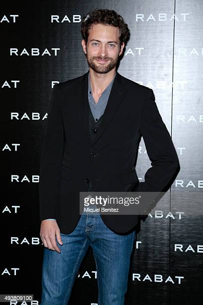 Peter Vives attends Rabat Jewelry Boutique Inauguration on October 22 2015 in Barcelona Spain