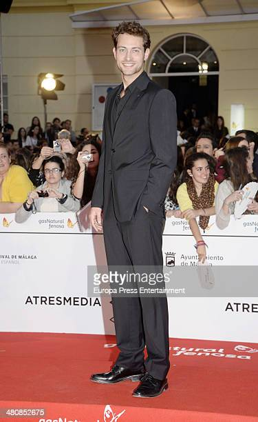 Peter Vives attends the 17th Malaga Film Festival opening ceremony on March 21 2014 in Malaga Spain