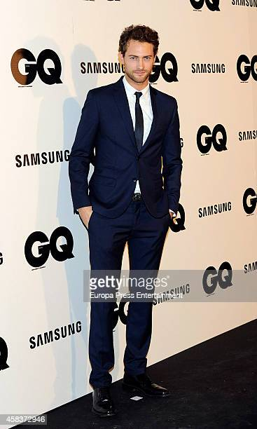 Peter Vives attends the 'GQ Men Of The Year awards 2014' at Palace hotel on November 3 2014 in Madrid Spain