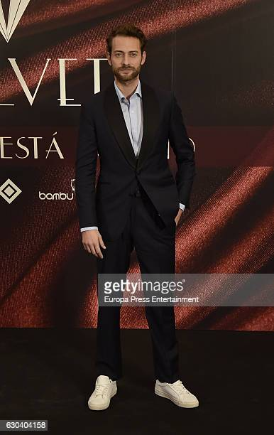 Peter Vives attends the party for the series final of 'Galerias Velvet' at Continental hotel on December 21 2016 in Madrid Spain