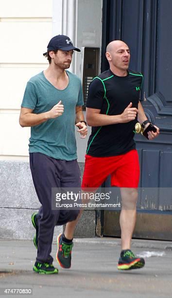 Peter Vives is seen on May 25 2015 in Madrid Spain