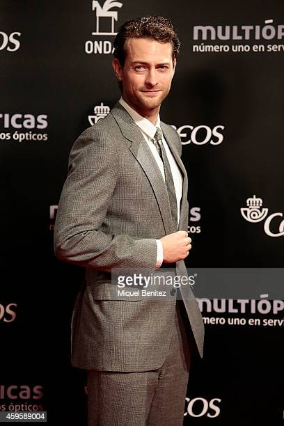 Peter Vives poses during a photocall the 61st Ondas Awards 2014 at the Gran Teatre del Liceu on November 25 2014 in Barcelona Spain