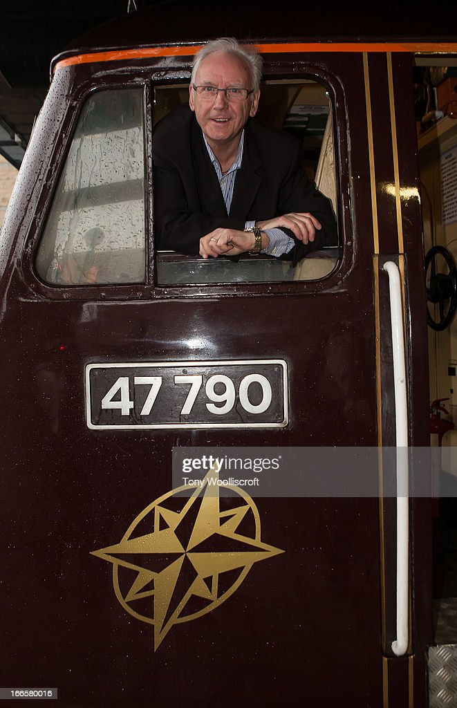 Peter Waterman attends as The northern Belle makes a fundraising trip in aid of the 'When You Wish Upon a Star' charity on April 13, 2013 in Manchester, England.