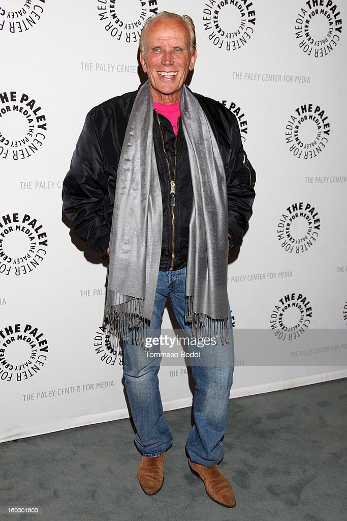 <a gi-track='captionPersonalityLinkClicked' href=/galleries/search?phrase=Peter+Weller&family=editorial&specificpeople=224823 ng-click='$event.stopPropagation()'>Peter Weller</a> attends The Paley Center for Media and Warner Bros. Home Entertainment present 'Batman: The Dark Knight Returns - Part 2' premiere held at The Paley Center for Media on January 28, 2013 in Beverly Hills, California.