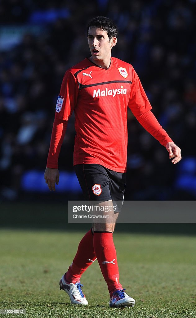 <a gi-track='captionPersonalityLinkClicked' href=/galleries/search?phrase=Peter+Whittingham&family=editorial&specificpeople=235384 ng-click='$event.stopPropagation()'>Peter Whittingham</a> of Cardiff City during the npower Championship match between Peterborough United and Cardiff City at London Road on March 30, 2013 in Peterborough, England,