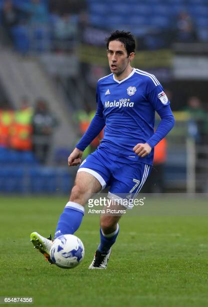 Peter Whittingham of Cardiff City during the Sky Bet Championship match between Cardiff City and Ipswich Town at The Cardiff City Stadium on March 18...