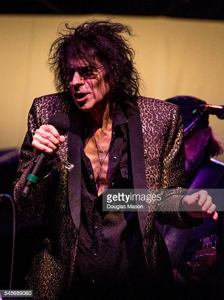 Peter Wolf and the Midnight Travelers perform during the Green River Festival 2016 at Greenfield Community College on July 8 2016 in Greenfield...