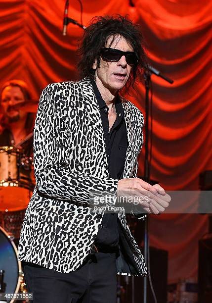 Peter Wolf of the J Geils Band performs at DTE Energy Center on September 11 2015 in Clarkston Michigan