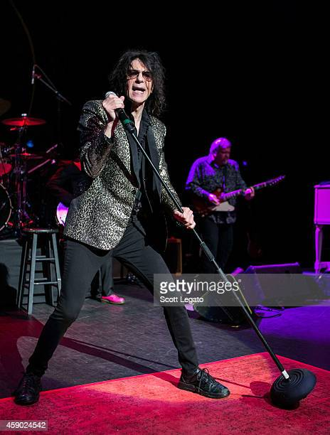 Peter Wolf of The J Geils Band performs at The Fillmore on November 14 2014 in Detroit Michigan