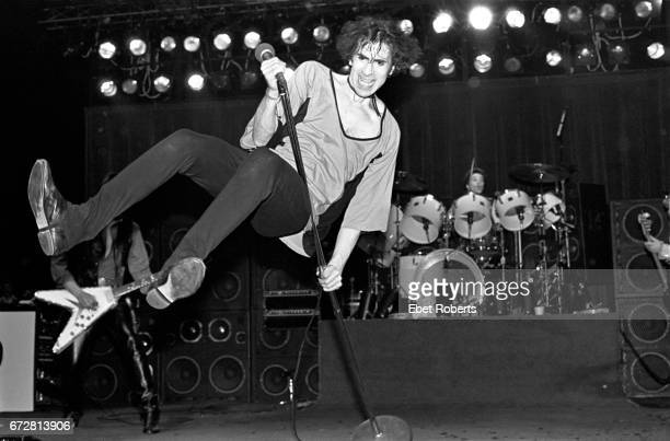 Peter Wolf performing with The J Geils Band at the Palladium in New York City on April 25 1980