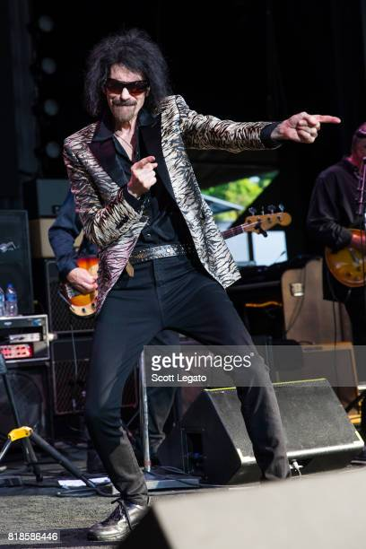Peter Wolf performs at DTE Energy Music Theater on July 18 2017 in Clarkston Michigan