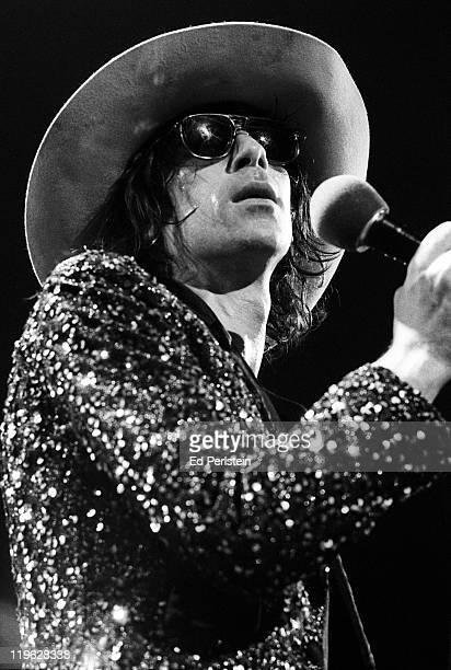 Peter Wolf performs with the J Geils Band at the Oakland Auditorium on March 24 1979 in Oakland California