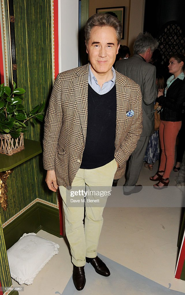 Peter York attends the launch of Nicky Haslam's new album 'Midnight Matinee' on July 1, 2013 in London, England.