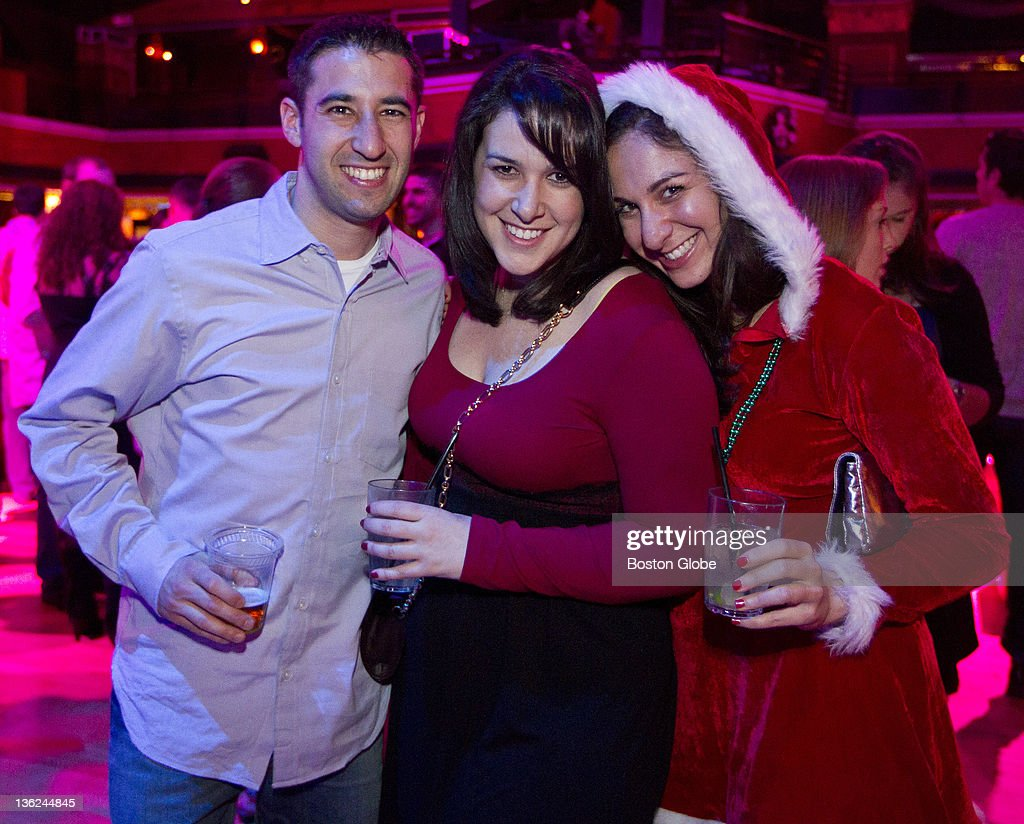 Peter Ziegler left Jennifer Pabian center and Audrey Markoff attended the Matzo Ball at the Royale Nightclub on Friday Dec 24 2010
