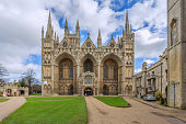 Peterborough Cathedral in Cambridgeshire Engalnd