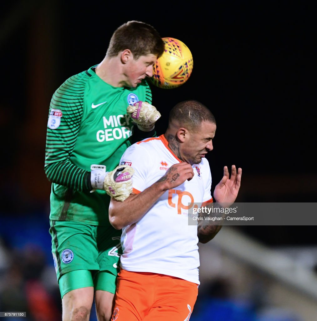Peterborough United v Blackpool - Sky Bet League One