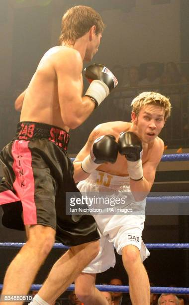 Peterborough's JJ Bird right faces Wembley's Steve O'Meara in a LightMiddleweight contest at Bethnal Green's York Hall Steve O'Meara won the bout on...