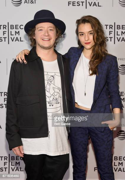 PeterHenry Phillips and Director Quinn Shpehard attends the 'Blame' Premiere during 2017 Tribeca Film Festival at Cinepolis Chelsea on April 22 2017...