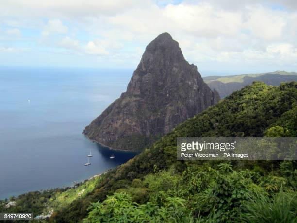 Petit Piton in Saint Lucia