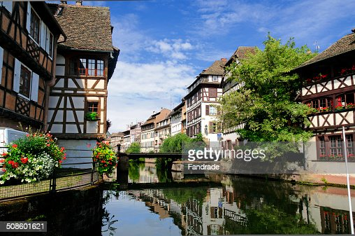 Petite France, Strasbourg : Stock Photo