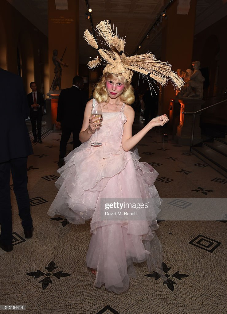 Petite Meller attend the 2016 V&A Summer Party In Partnership with Harrods at The V&A on June 22, 2016 in London, England.