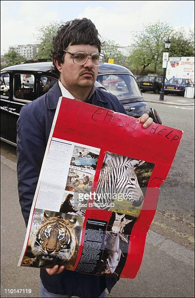 Petition to help saving the London Zoo in London Great Britain on April 10 1991
