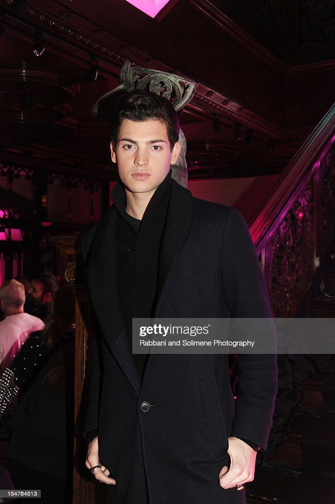 Petr Brant Jr. attends Jimmy Choo Celebrates the Launch of the Exclusive Collaboration with Artist Rob Pruitt at The Fletcher Sinclair Mansion on October 25, 2012 in New York City.