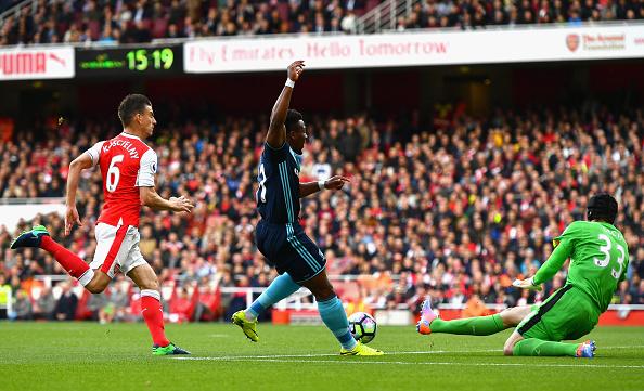 Arsenal v Middlesbrough - Premier League : News Photo