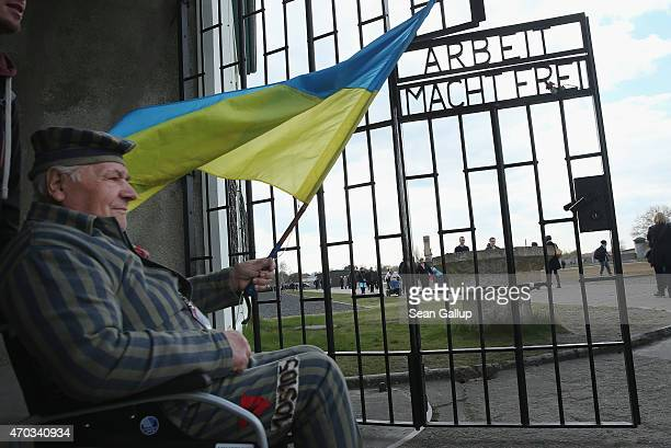 Petr Mischtschuk who is from Ukraine and as a 14yearold was imprisoned by the Nazis at the Buchenwald and later Sachsenhausen concentration camps...