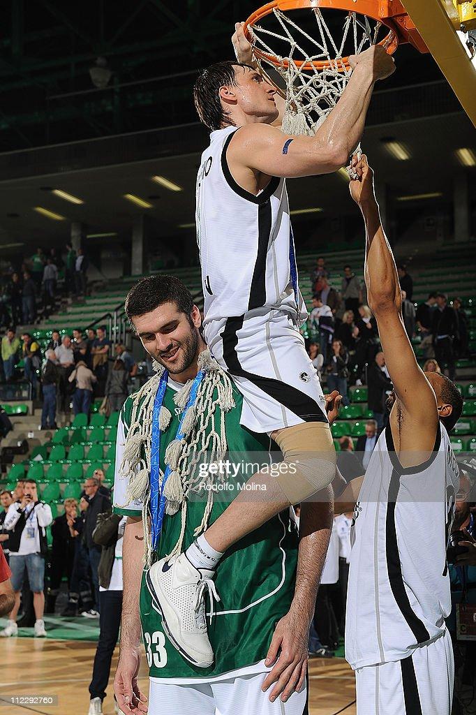 Champion Award Ceremony - EuroCup Basketball