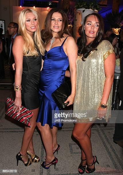 Petra Ecclestone and Slavica Ecclestone and Tamara Ecclestone attends the F1 Party In Aid Of Great Ormond Street at Victoria Albert Museum on June 17...