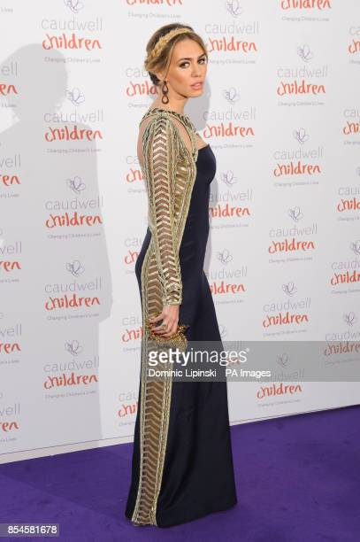 Petra Ecclestone arriving at the Caudwell Children Butterfly Ball at the Grosvenor House hotel in central London