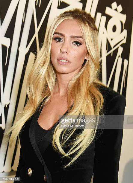 Petra Ecclestone attends the Maddox Gallery launch exhibition on December 3 2015 in London England
