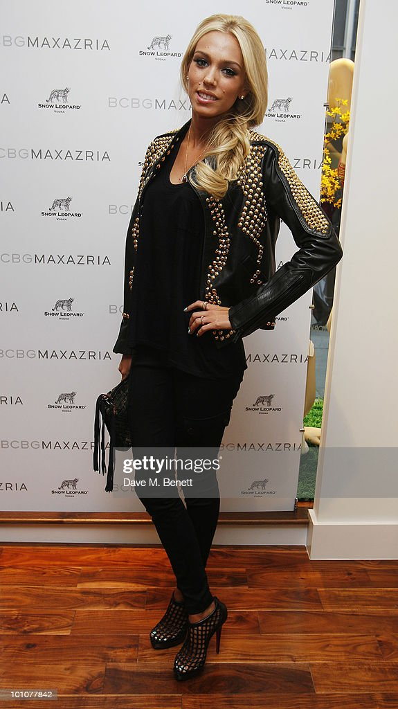 Petra Ecclestone attends the store opening of BCBGMAXAZRIA on May 27, 2010 in London, England.