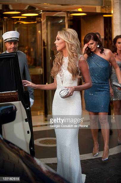 Petra Ecclestone And James Stunt Wedding Guests Arrive In Rome