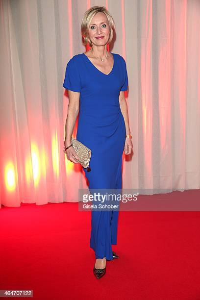 Petra Gerster during the Goldene Kamera 2015 reception on February 27 2015 in Hamburg Germany