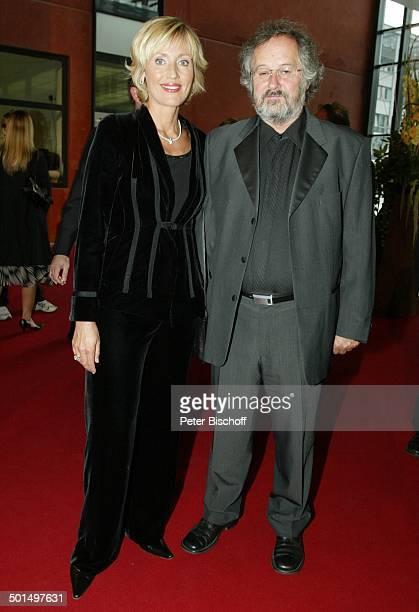 Petra Gerster Ehemann Christian Nürnberger Verleihung 'Deutscher Fernsehpreis 2003' Coloneum Köln NordrheinWestfalen Deutschland Europa Roter Teppich...