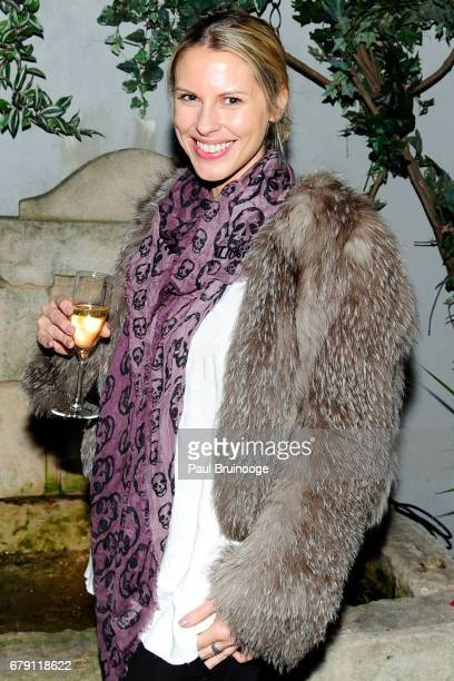 Petra Khashoggi attends The Cinema Society BNY Mellon host the after party for Sony Pictures Classics' 'Paris Can Wait' at Laduree Soho on May 4 2017...