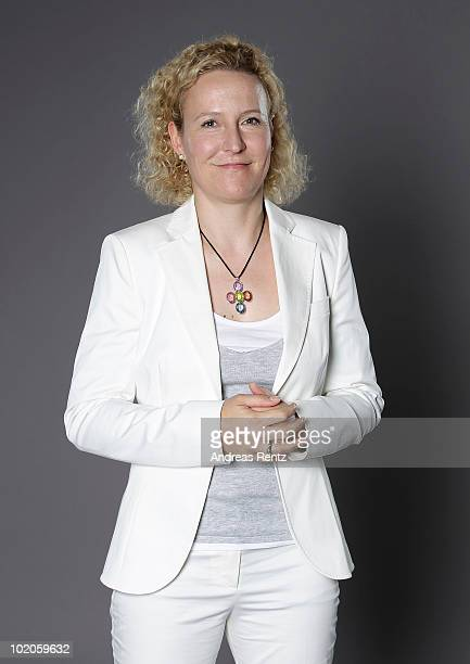 Petra Kiwitt Executive Vice President of DHL Solutions Innovations at Deutsche Post DHL poses during a portrait session at the Digital Life Design...