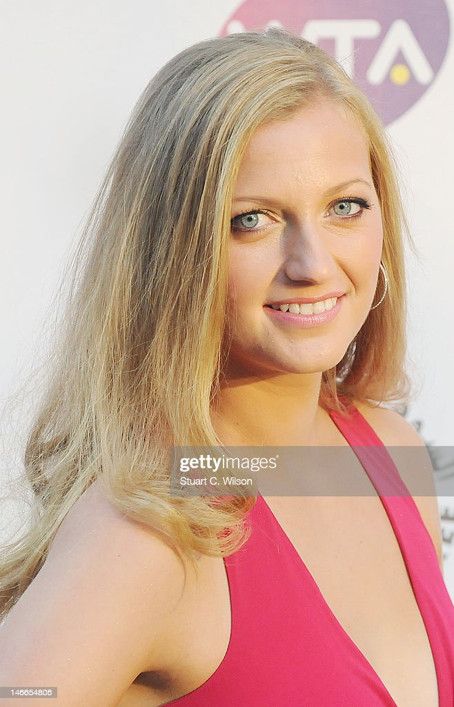 Petra Kvitova attends the Pre-Wimbledon Party at Kensington Roof Gardens on June 21, 2012 in London, England.